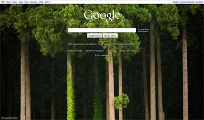 Startseite Google.de