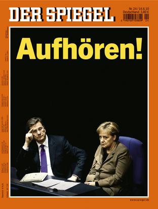 Titelbild SPIEGEL 24/2010