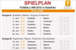 WM-Spielplan (pdf)