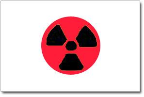 Japan/Atom-Flagge