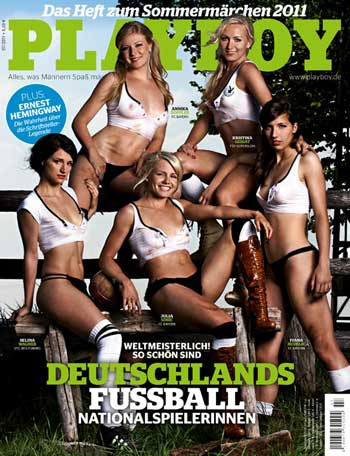Cover des Playboy 07/2011