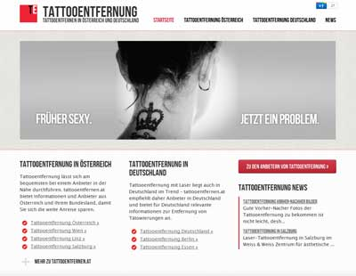 Screenshot tattooentfernen.at