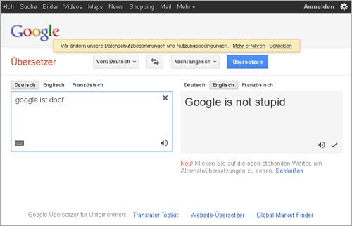 Google übersetzers