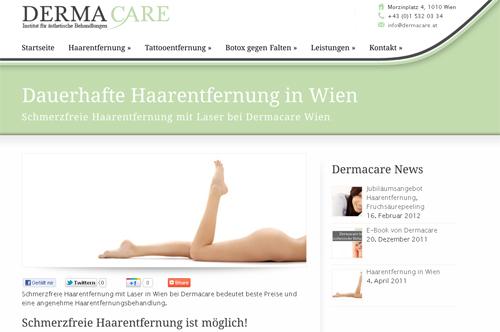 dauerhafte Haarentfernung in Wien