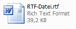 Rich-Text-Datei