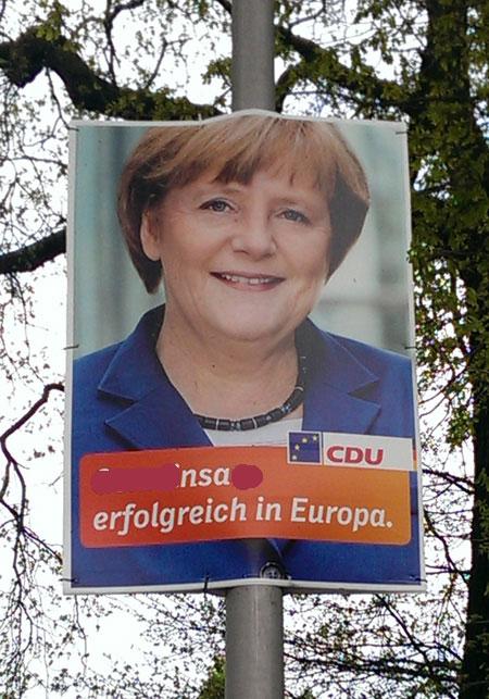 NSA erfolgreich in Europa - mit Merkel