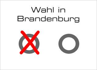 Wahl in Brandenburg