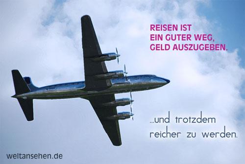 Dafür muß man sich das Reisen aber erst mal leisten können | Bild: weltansehen.de