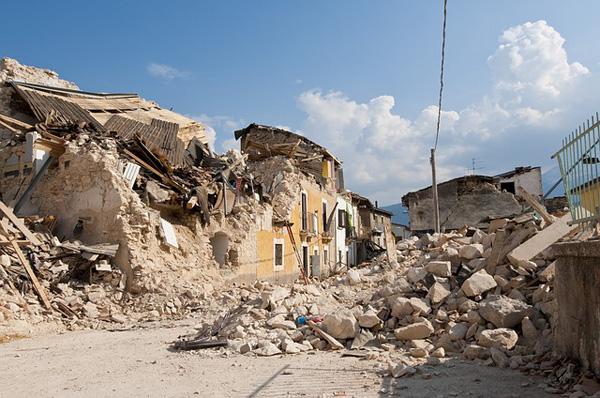 Diese Häuser hielten dem Erdbeben nicht stand | Foto: Angelo_Giordano, pixabay.com, CC0 Creative Commons