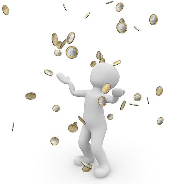 EU Geldregen | Foto: 3dman_eu, pixabay.com, CC0 Creative Commons