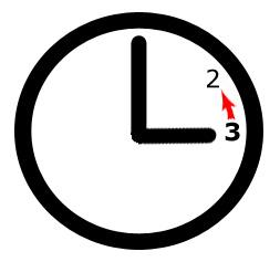 Uhr eine Stunde zurück stellen