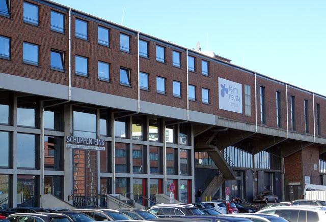 Schuppen Eins in Bremen, Sitz von team neusta