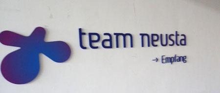 team neusta Empfang
