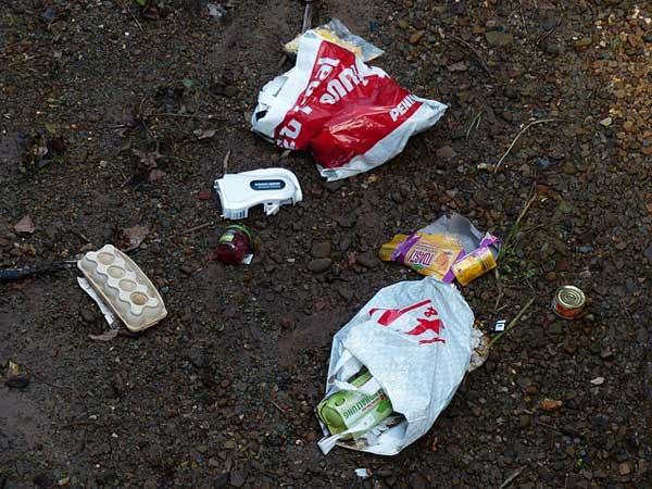 Plastiktüten vermüllen die Umwelt | Foto: Hans, pixabay.com, CC0 Creative Commons