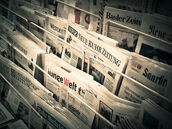 Zeitungen in der Auslage | Foto: MichaelGaida, pixabay.com, CC0 Creative Commons